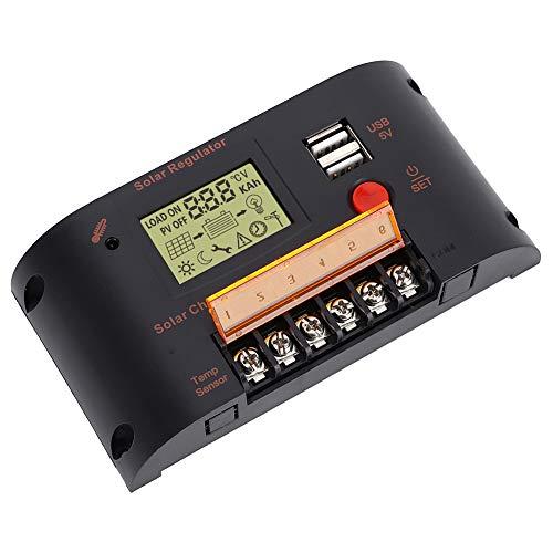 Controlador solar solar, panel solar del controlador 10A 20A CMB2410 para batería de plomo-ácido