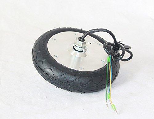 L-faster 24V / 36V / 48V 150W Scooter eléctrico Motor de la Rueda de 8 Pulgadas Motor eléctrico sin escobillas del Eje para la Vespa eléctrica del Retroceso 8'Neumático Non-Pneumatic (36V)