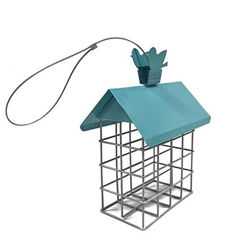 Comederos para pájaros Alimentador de pájaros de pastel para colgar,alimentación de una sola aves de alimentación para el jardín Hogar al aire libre patio trasero Decoración de jardín ( Color : B )