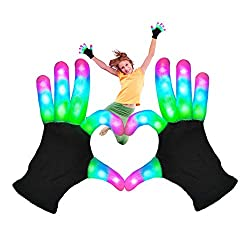 Girl Rave Gloves Stocking Stuffer