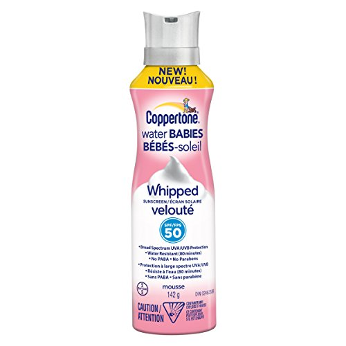 Coppertone Waterbabies Whipped Sunscreen Spf50, 142g