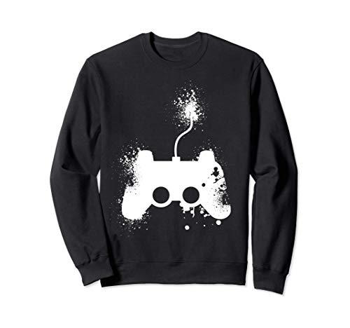 Vintage Gamepad | Gaming Kleidung | Zocken Zocker Sweatshirt