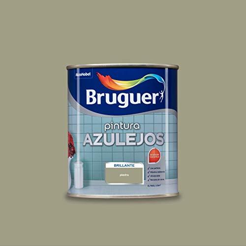 Bruguer Esmalte para Azulejos Brillante Piedra 750 ml