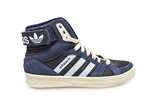 Adidas Space Diver Womens Damen Originals High Top Sneaker Navy, Beige-Blau-Dunkelblau, 36 2/3 EU