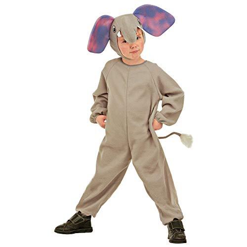 WIDMANN 36658 - Disfraz infantil de elefantes, multicolor, 104 cm / 2 – 3 años