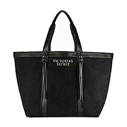 Victoria's Secret Tasche mit Fransen, Schwarz