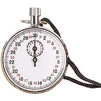 Z-Y Cronometros Temporizador Digital Ejecución de Alarma del cronómetro Digital Atletismo Deportes cronógrafo mecánico cronómetro de Mano de Accesorios de Metal al Aire Libre Durable