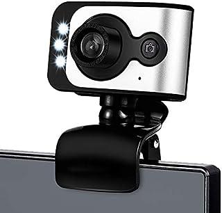 WXFXBKJ Drive-Free USB Computer External Webcam, Desktop Laptop Computer with Microphone HD Beauty Webcam, Video Live Teac...