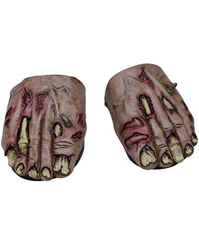 Horror-Shop Pieds Zombie