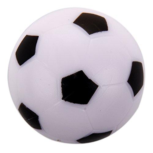 TOOGOO Petit Football Baby-foot En Plastique Dure Balle Table Homo logue Jeu Jouet Enfant noir blanc