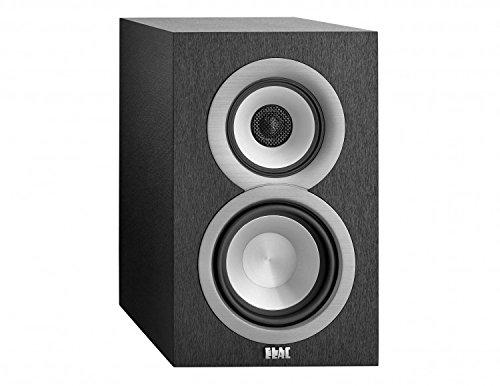ELAC Uni-fi UB5 Bookshelf Speaker (Black, Pair) Regallautsprecher Paar schwarz vinyl