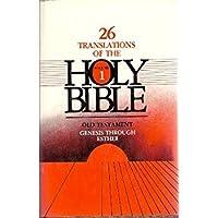 Twenty-Six (26) Translations of the Holy Bible Volume 1 (Old Testament: Genesis - Esther)【洋書】 [並行輸入品]