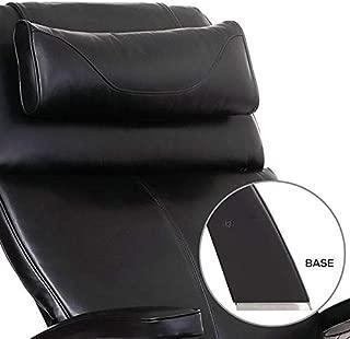Human Touch Perfect Chair PC-Live 420 Dark Walnut - Gray Premium Leather Zero Gravity Recliner w/Memory Foam & Jade Heat
