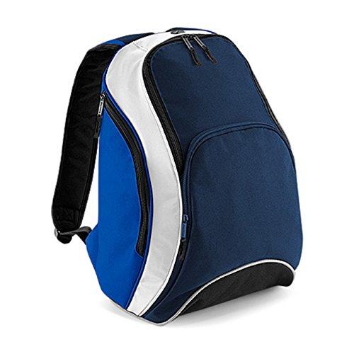 Bagbase Teamwear Rucksack Marineblau / Royal / Wei?