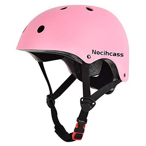 Casco de monopatín con certificado CPSC, multifunción, para todo el mundo, desde niños pequeños hasta adolescentes y adultos, patinaje, patinete, bicicleta, longboard, hoverboard, escalada, BMX.