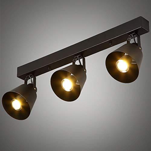 Plafond Spotlight Plafond Spots Spotlights Spotbars Plafond Licht Scandinavische Moderne Retro Bar Track Rail Spotlights Amerikaanse Loft Kleding Winkel Woonkamer Slaapkamer Corridor Lamp