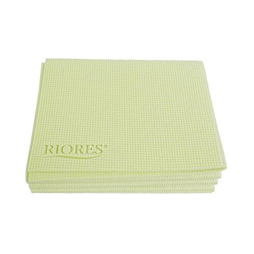 RIORES(リオレス)おりたたみヨガマット5mm収納ケース付き/ヨガマットおりたたみ軽量トレーニングマットエクササイズマット(グリーン)
