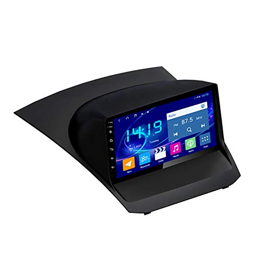 Sistema de navegación GPS, adecuado para FORD FIESTA 09-17 CAR GPS, navegación de pantalla táctil estéreo HD, radio de automóvil, reproductor Bluetooth 4 + 64g