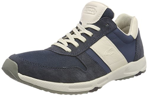 camel active Gateway 24, Sneakers Basses Homme,Bleu (Navy/off-white),44.5 EU
