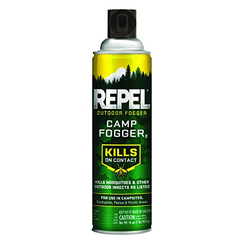 Repel 42501 Outdoor Fogger 16 Ounces, Kills Mosquitoes, for Camp, Brown/A