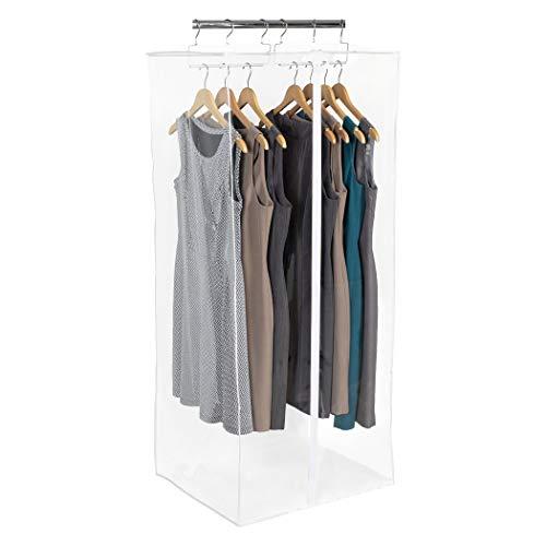 Richards Homewares CLRLY ORG Dress Bag Clearly Organized Jumbo Garment Closet 24' x 20' x 54' (Clear)