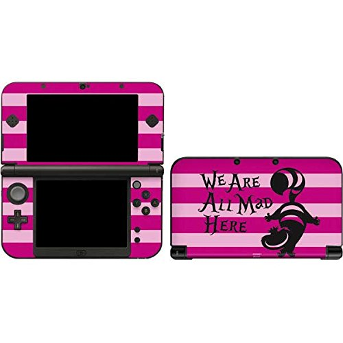 Skinit Decal Gaming Skin for 3DS XL 2015 - Officially Licensed Disney Cheshire Cat We are All Mad Here Design