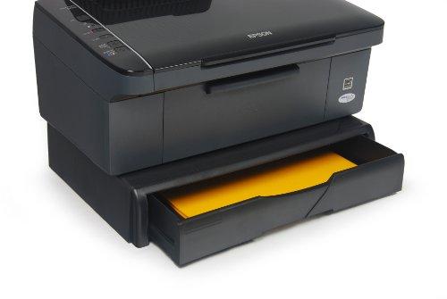 Exponent 44011 Designer Printer Monitor Stand Druckerständer und Monitorständer, schwarz