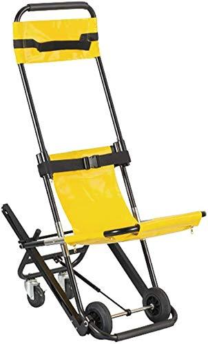 GLJY Klappbarer Treppenstuhl, tragbarer Treppenbahre Medical Lift Treppenstuhl mit Schnellverschluss für ältere Menschen, Behinderte