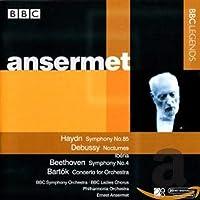 ハイドン:交響曲第85番/ドビュッシー:夜想曲/イベリア/ベートーヴェン:交響曲第4番(アンセルメ)(1958, 1964)