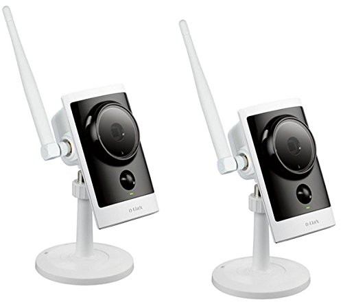 D-LINK mydlink Cloud DCS-2332LX2 - Pack di 2 telecamere IP HD giorno e notte