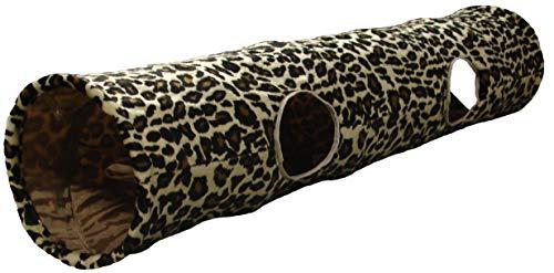 Karlie Katzentunnel Leopard 130x25 cm
