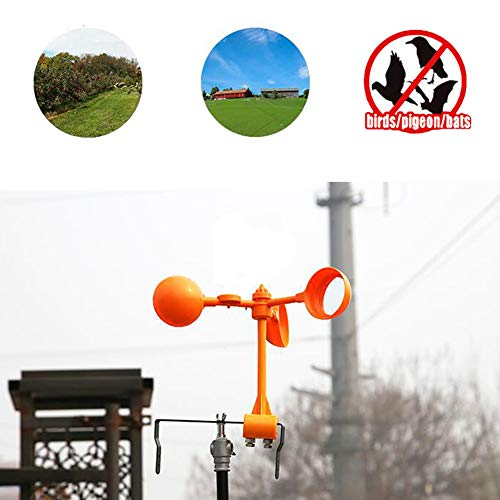 YomyRay 4 Linsen Reflektierende Scare Birds Abschreckung und Vogel Control Device Professional Garden Protector