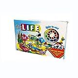 DEF Classic Monopoly Board Game Journey of Life Turntable y Tarjetas, adecuadas para niños Mayores de 8 años 2-4 Juego de Mesa de Jugadores