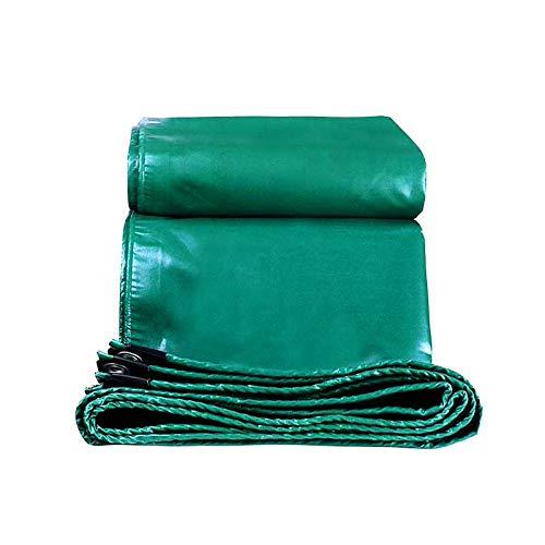 DGLIYJ- Abdeckplanen Lona Aislante Térmica Verde Impermeable Lona Gruesa De Plástico PVC para Camiones Al Aire Libre (450 G / ㎡, 0,5 Mm De Espesor)(Size:4x6m)