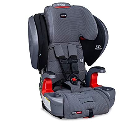 Britax Grow with You ClickTight Plus Harness-2-Booster Car Seat - 3 Layer Impact Protection - 25 to 120 Pounds, Otto Safewash Fabric [Newer Version of Pinnacle]