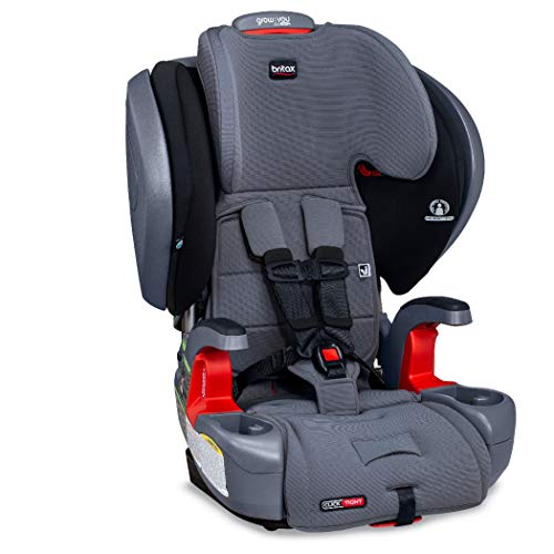 Britax Grow with You ClickTight Plus Harness-2-Booster Car Seat, Otto Safewash Fabric