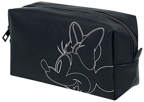 Mickey & Minnie Muis Cosmeticatasje, Zwart / Wit