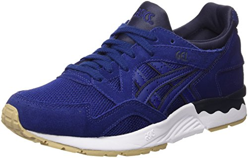ASICS Unisex-Erwachsene Gel-Lyte V Sneakers Blau Blue Print, 42 EU