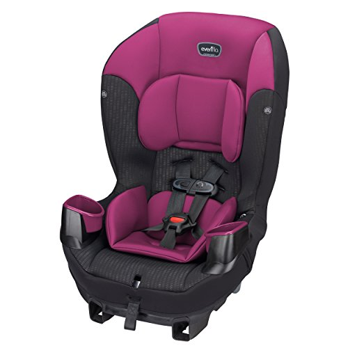 Best Deals! Evenflo Sonus 65 Convertible Car Seat, Berry Beat