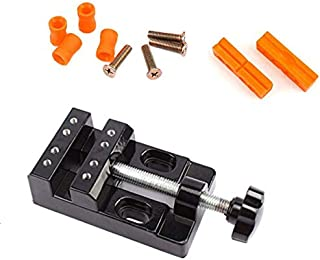 CAIDU Vises Universal Mini Walnut Vise Clamp Table Bench Vice for Jewelry Nuclear Clip On DIY Carving Tool