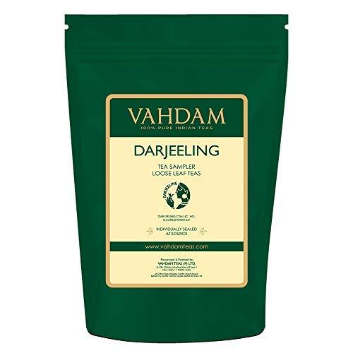 VAHDAM, Muestra de Té Darjeeling - 10 TEAS, 50 porciones |
