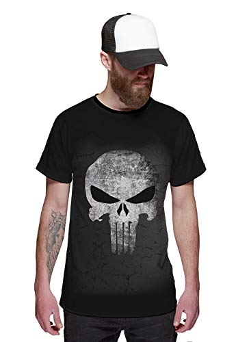 Camiseta O Justiceiro Caveira The Punisher Black