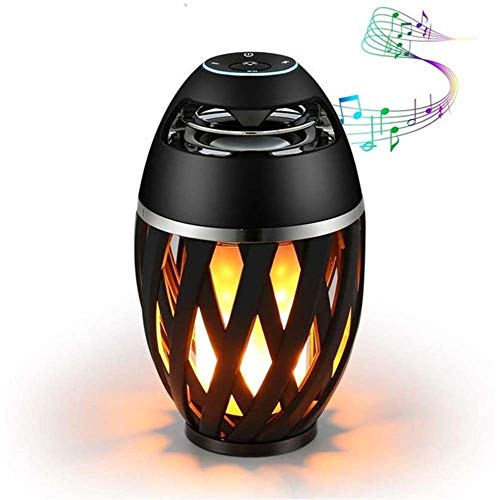 CXN Mode Flackern Emulation Feuer USB Bluetooth Lautsprecher Tragbare Led Flamme Atmosphäre Lampe Stereo Outdoor Camping Woofer Mini Hell