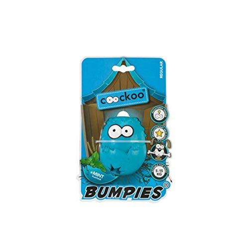 COOCKOO Dog Toy BUMPIES Regular, Mint 7-16KG Caribbean-Blue 85x68x58mm