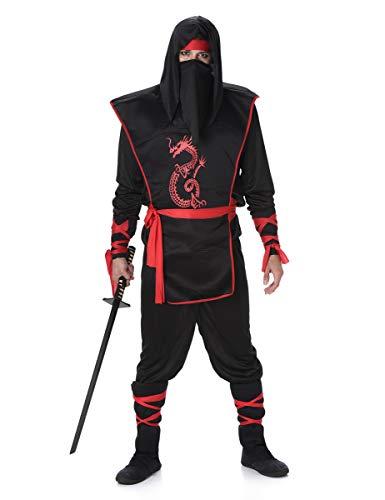 Folat B.V. Karnival Costumes - Disfraz de Ninja para Hombre