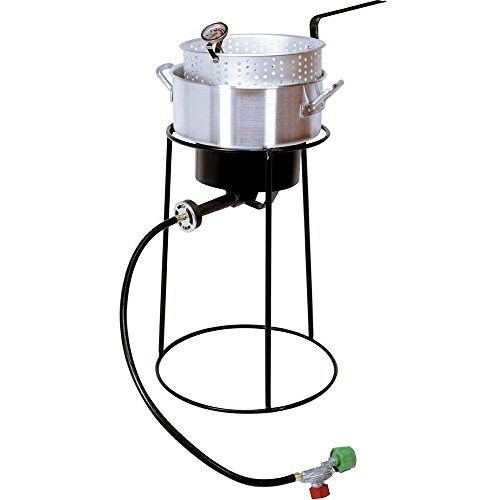 King Kooker 22PKPT 20-Inch Propane Outdoor Cooker with 9-Quart Aluminum Fry Pan