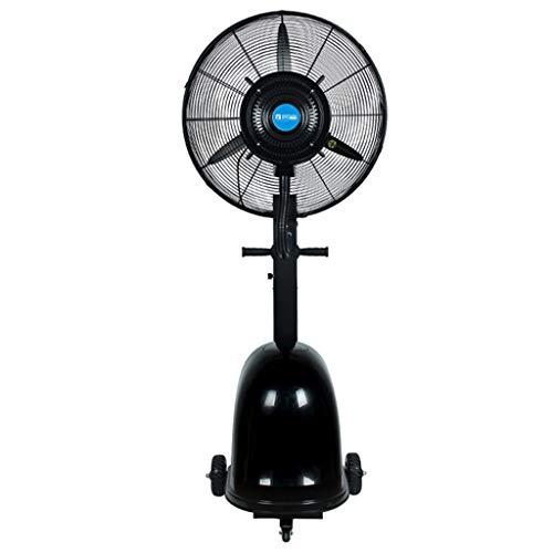Jyfsa Ventilador de la fábrica Ventilador Industrial con Ruedas/Tanque de Agua para Tienda/casa Comercial Ventilador eléctrico Ventilador frío, Altura Fija 175 cm