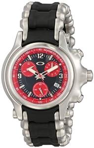 Oakley Men's 10-247 Holeshot Stainless Steel Bracelet Edition Chronograph Watch image