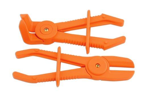 Laser 5527 Schlauchklemmen-Zange/Abklemmzange für flexible Schläuche, 2 Stück