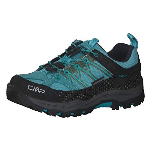 CMP Rigel Chaussures basses de trekking et randonnée Unisexe Bleu - Bleu - bleu, 33 EU